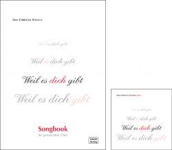 CD + Songbook Weil es dich gibt